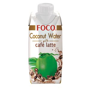 Coconut Water with Coffee Latte S