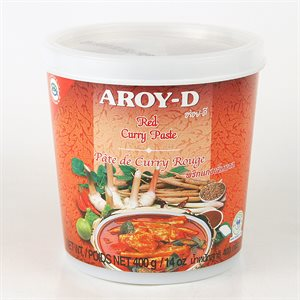 Red Curry Paste Jar 400g