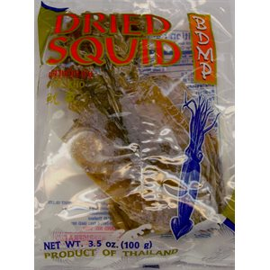 "Dried Squid 4"""" Unpeeled"