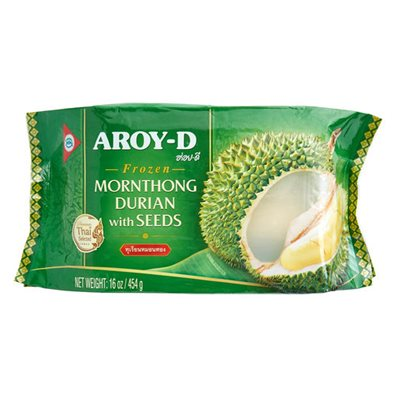 Frz Durian Mornthong With Seed(bag)