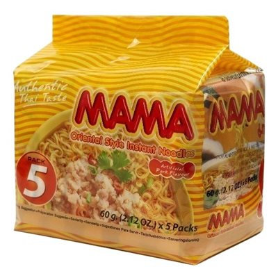 Instant Noodles Pork - 5 pack