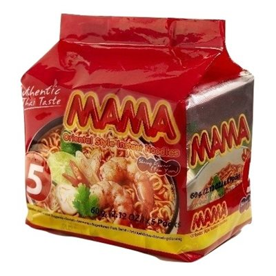 Instant Noodles Shrimp - 5 pack