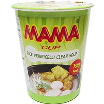 Cup Rice Vermicelli Clear Soup