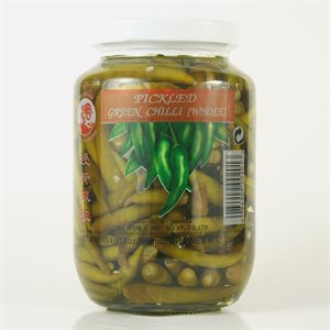 Pickled Green Chilli