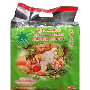 Dried Noodle Rice Vermicelli 222346 Green - M