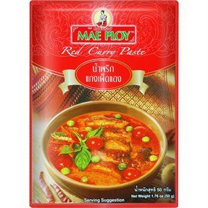Red Curry Paste 50g- RE-PACK
